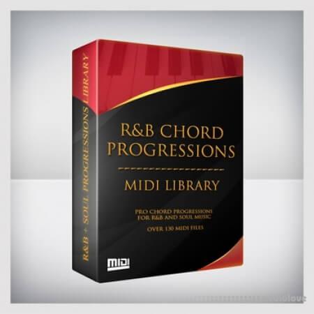 Tru-Urban RnB Chord Progressions Midi Library MiDi
