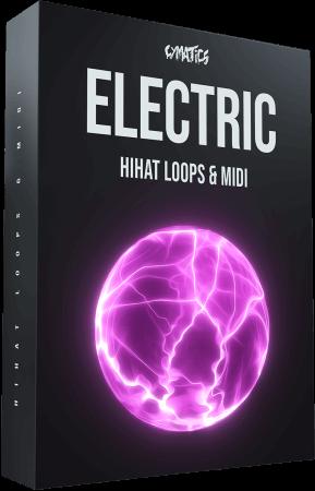 Cymatics Electric Hihat Loops And MIDI