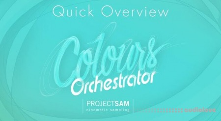 ProjectSAM Colours Orchestrator v2.0.1 KONTAKT