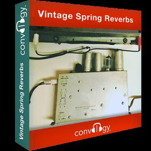 Presonus Convology Vintage Spring Reverbs (Impulse Bounce)