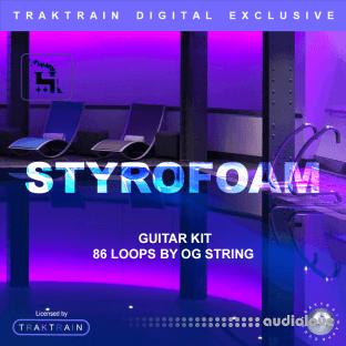 Traktrain Styrofoam Pool Guitar Kit by OG String
