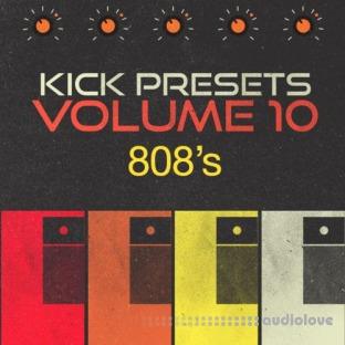 Sonic Academy KICK 2 Presets Vol.10 808s