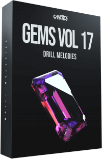 Cymatics Gems Vol.17 Dril Melodies