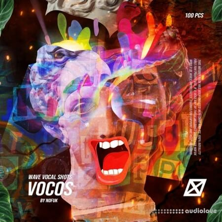 nofuk VOCOS Vocal one shots (100 pcs)