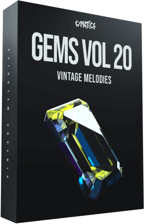Cymatics Gems Vol.20 Vintage Melodies