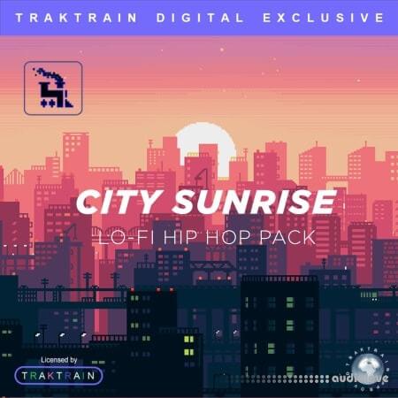 TrakTrain City Sunrise Lo-Fi Hip Hop Pack