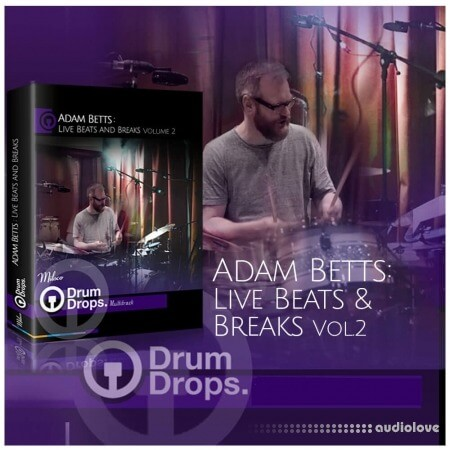 DrumDrops Adam Betts Live Beats and Breaks 2