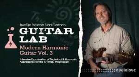 Truefire Brad Carlton Guitar Lab Modern Harmonic Guitar Vol.3