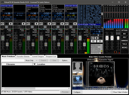 Virtual DJ and Karaoke Studio