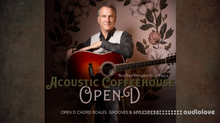 Truefire Ellis Paul Acoustic Coffeehouse Open D