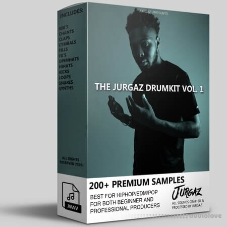 JURGAZKITS The Jurgaz Drumkit Vol.1