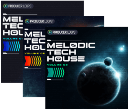 Producer Loops Melodic Tech House Volume 1-3