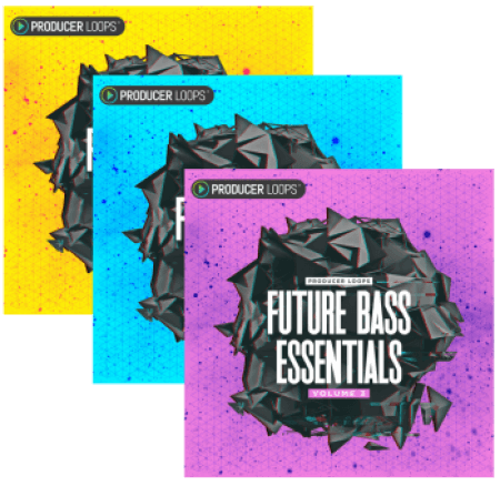 Producer Loops Future Bass Essentials Volume 1-3