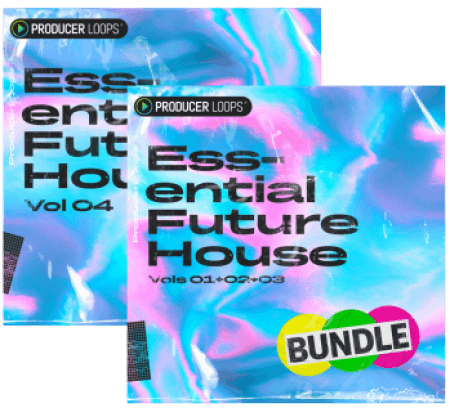 Producer Loops Essential Future House Volume 1-4