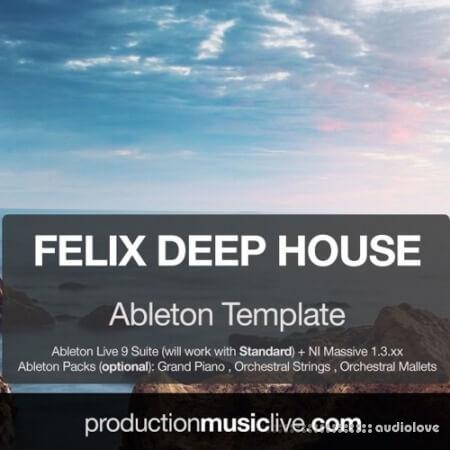 Production Music Live Felix Deep House Ableton Template