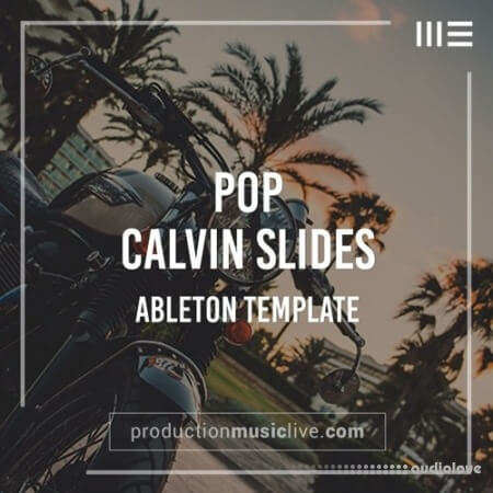 Production Music Live Calvin Slides Ableton Template