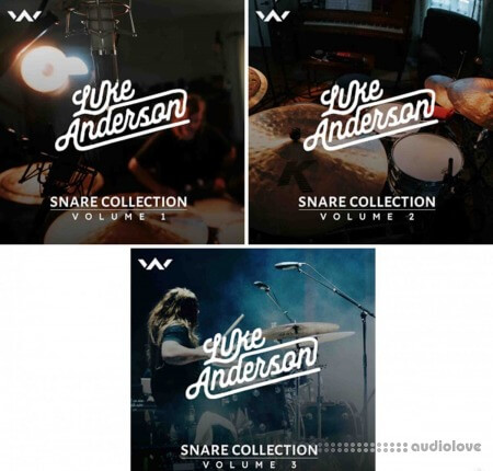Luke Anderson Snare Collection Bundle