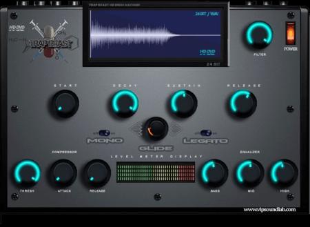 Vip Soundlab Trap Beast HD Drums and Kontakt