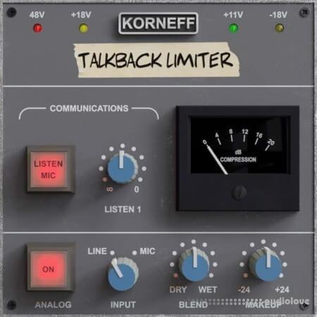 Korneff Audio Talkback Limiter v1.0 WiN