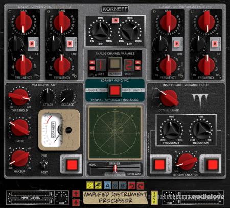 Korneff Audio Amplified Instrument Processor v1.0 WiN