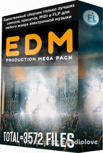 FL Studio PRO EDM Production Mega Pack