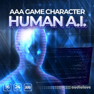 Epic Stock Media AAA Game Character Human AI
