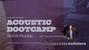 Truefire Brooks Robertson Acoustic Bootcamp Travis Picking