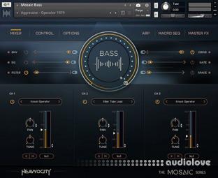 Heavyocity Mosaic Bass