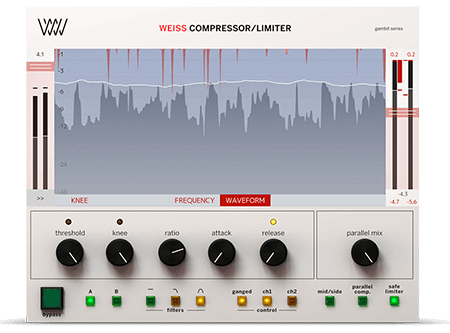 Softube Weiss Compressor Limiter