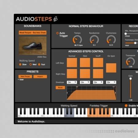 LeSound AudioSteps Pro Databanks