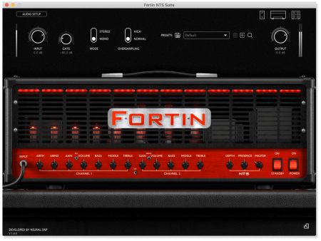 Neural DSP Fortin NTS Suite
