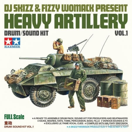 DJ Skizz and Fizzy Womack Heavy Artillery Vol.1