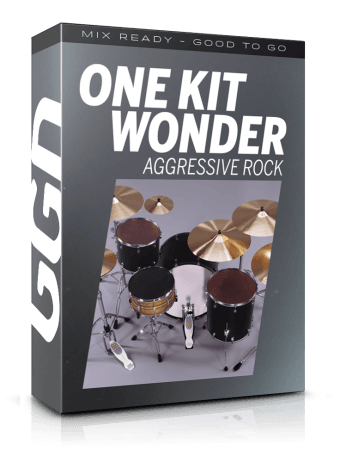 Getgood Drums One Kit Wonder Aggressive Rock