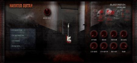 Electronik Sound Lab Haunted Guitar
