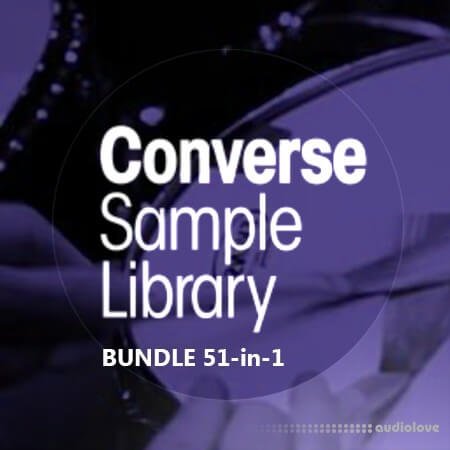 Converse Sample Library BUNDLE 51-in-1
