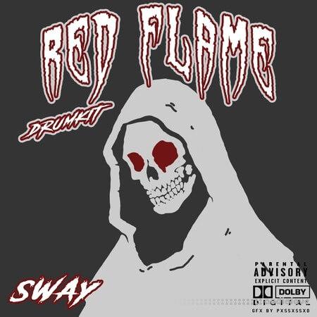 Sway55 Sway Red Flame DRUMKIT