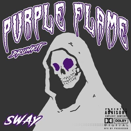 Sway55 Sway Purple Flame DRUMKIT