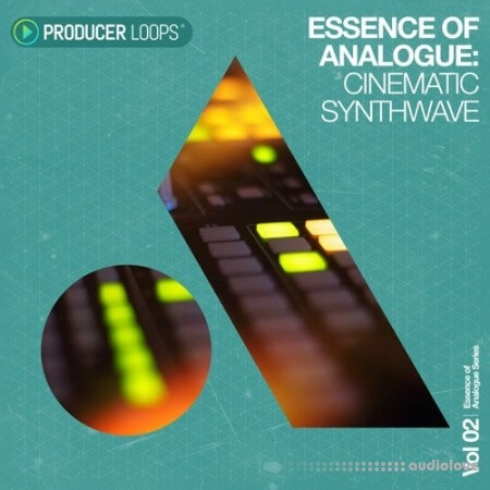 Producer Loops Essence of Analogue Vol.2 Cinematic Synthwave