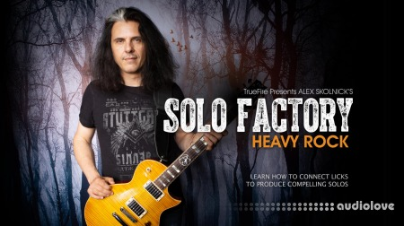 Truefire Alex Skolnick Solo Factory Heavy Rock