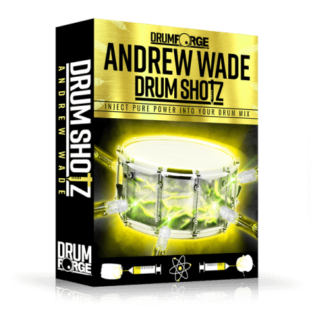 Drumforge DrumShotz Andrew Wade WAV
