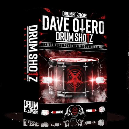 Drumforge DrumShotz Dave Otero WAV