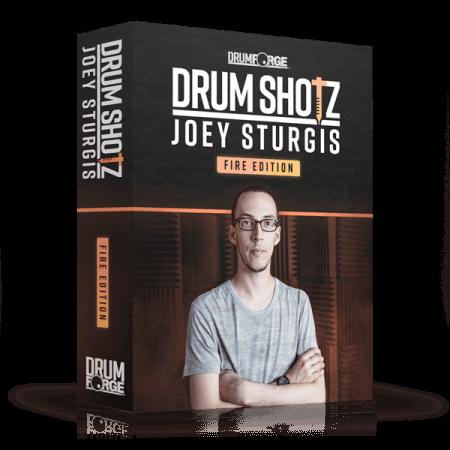 Drumforge DrumShotz Joey Sturgis Fire Edition WAV