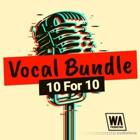 WA Production Vocal Bundle 10 For 10 WAV MiDi