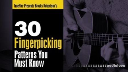 Truefire Brook Robertson 30 Fingerpicking Patterns You Must Know