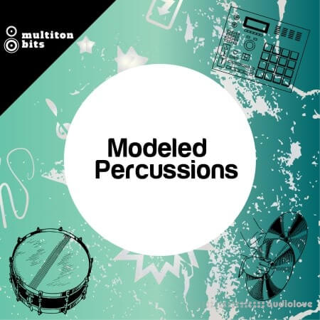 Multiton Bits Modeled Percussions