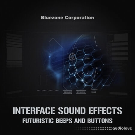 Bluezone Corporation Interface Sound Effects Futuristic Beeps and Buttons WAV