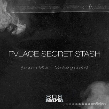 PVLACE Secret Stash Mastering Chains + LOOPS + MIDIs