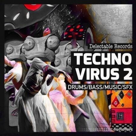 Delectable Records Techno Virus 02