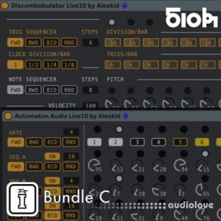 Isotonik Studios Alexkid Sequencer Bundle C