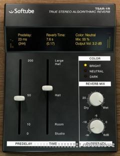 Softube TSAR-1R Reverb